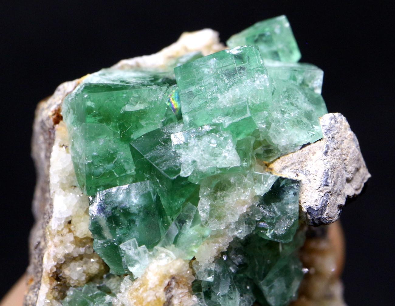 グリーン フローライト 蛍石 原石 イギリス産 56g  FL016
