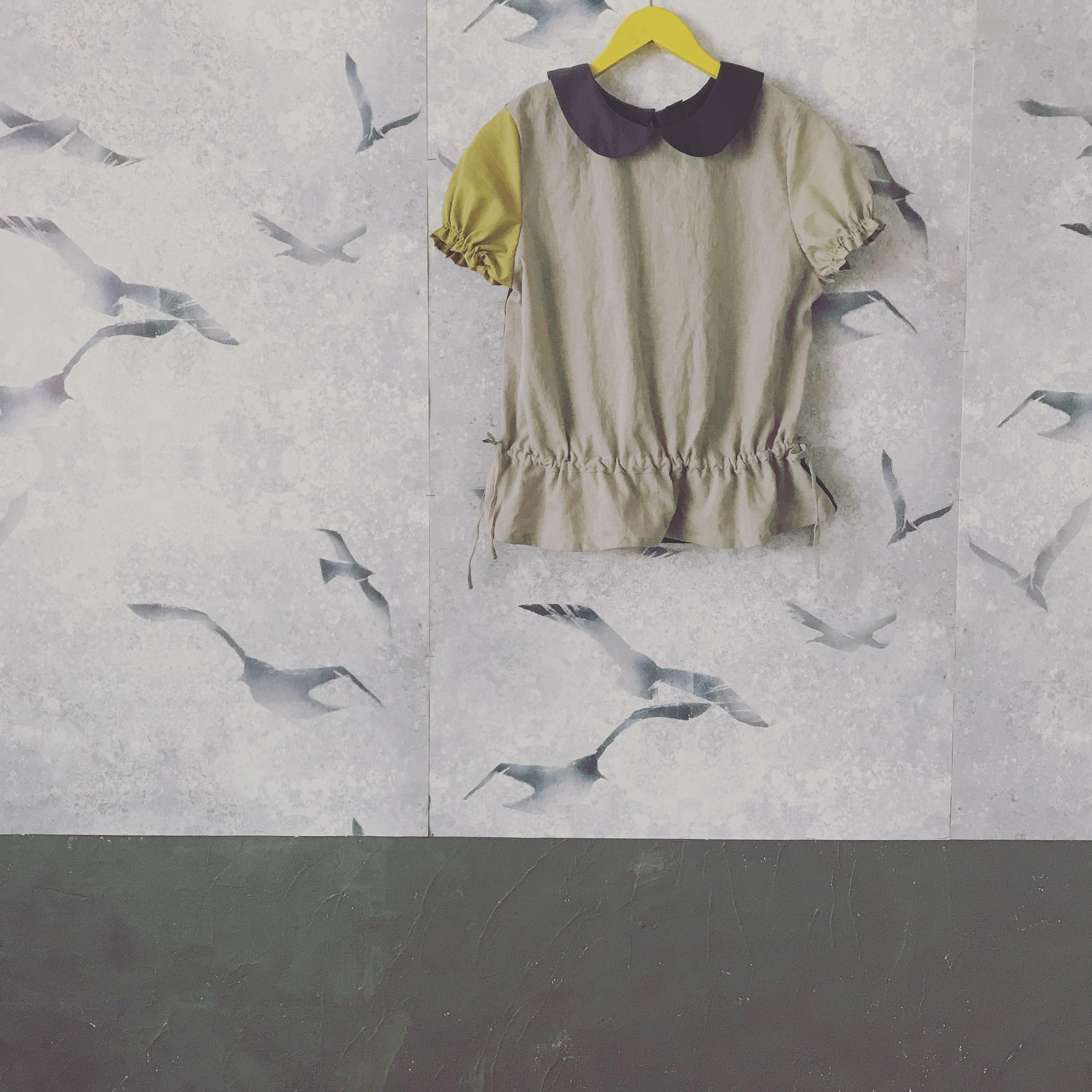 【お教室】03大人size palette丸襟ブラウス