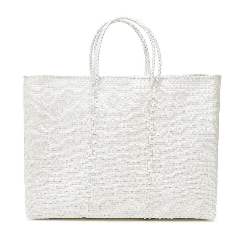 MERCADO BAG ROMBO - White(L)