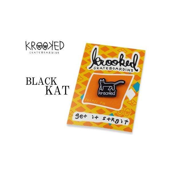 【KROOKED | クルキッド】 KAT PINS 16770