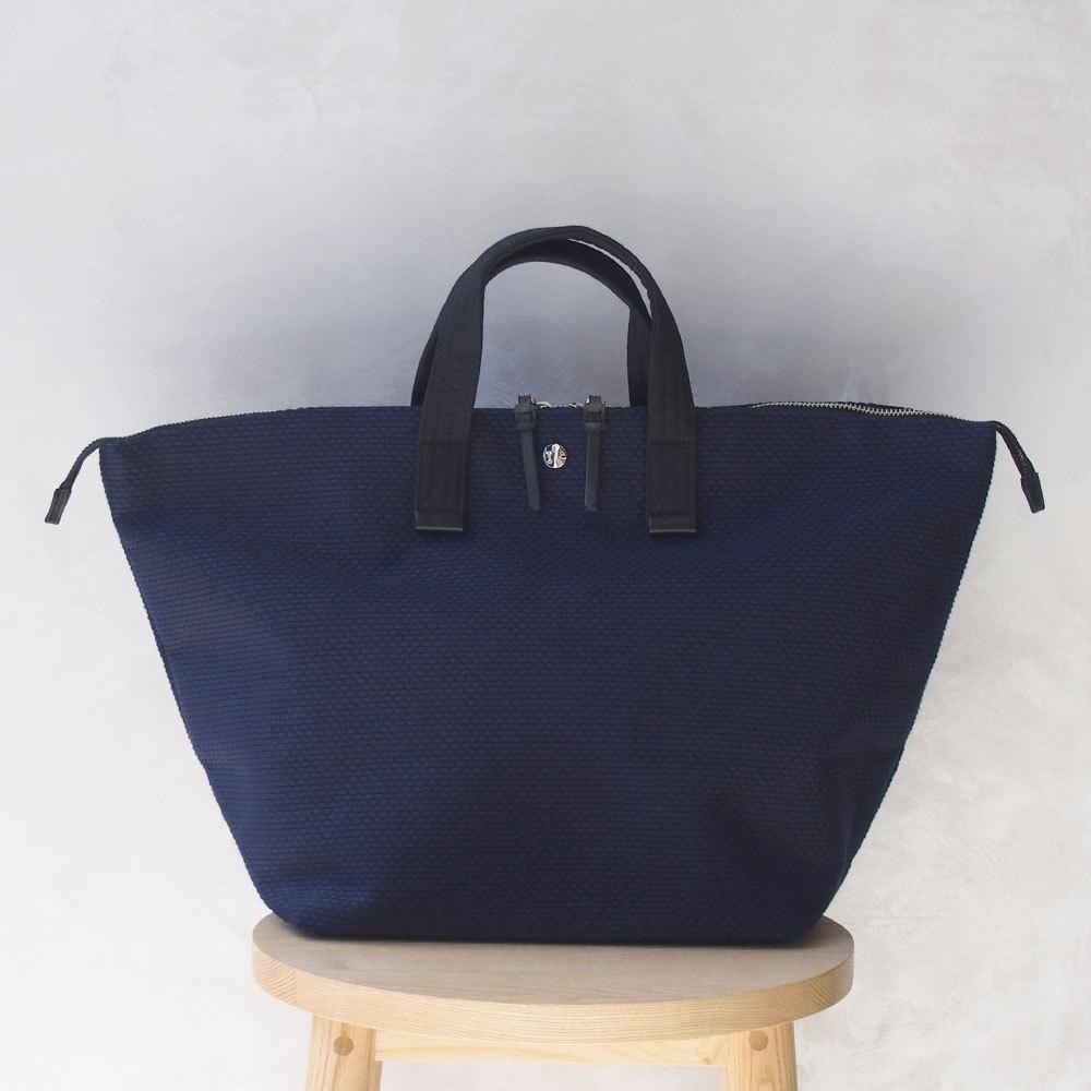 CaBas N°32-Bowler bag medium Navy/Black