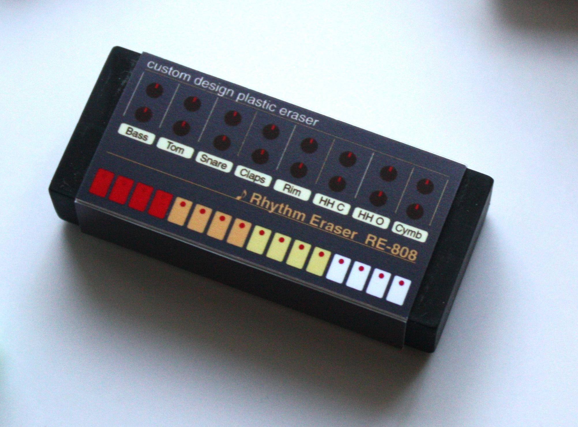 【イレーサー】リズムマシンイレーサー・RE-808・TR-808風消しゴム
