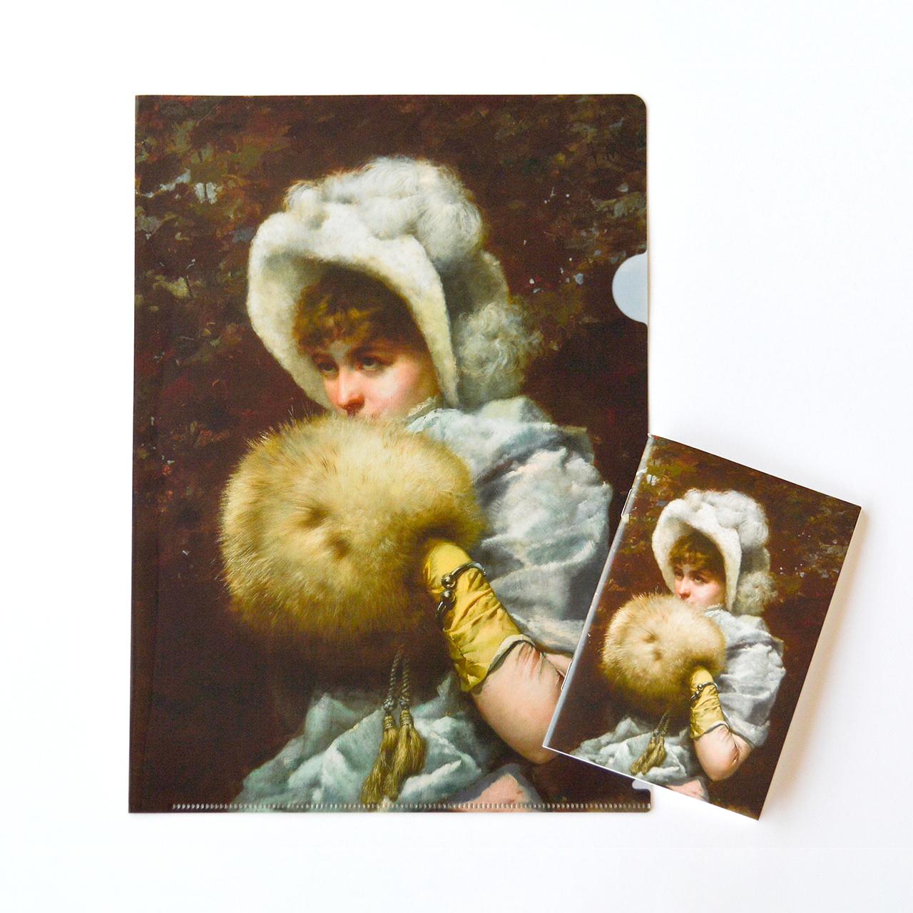 「奇蹟の芸術都市 バルセロナ」展 クリアファイル / ミニノートセットA