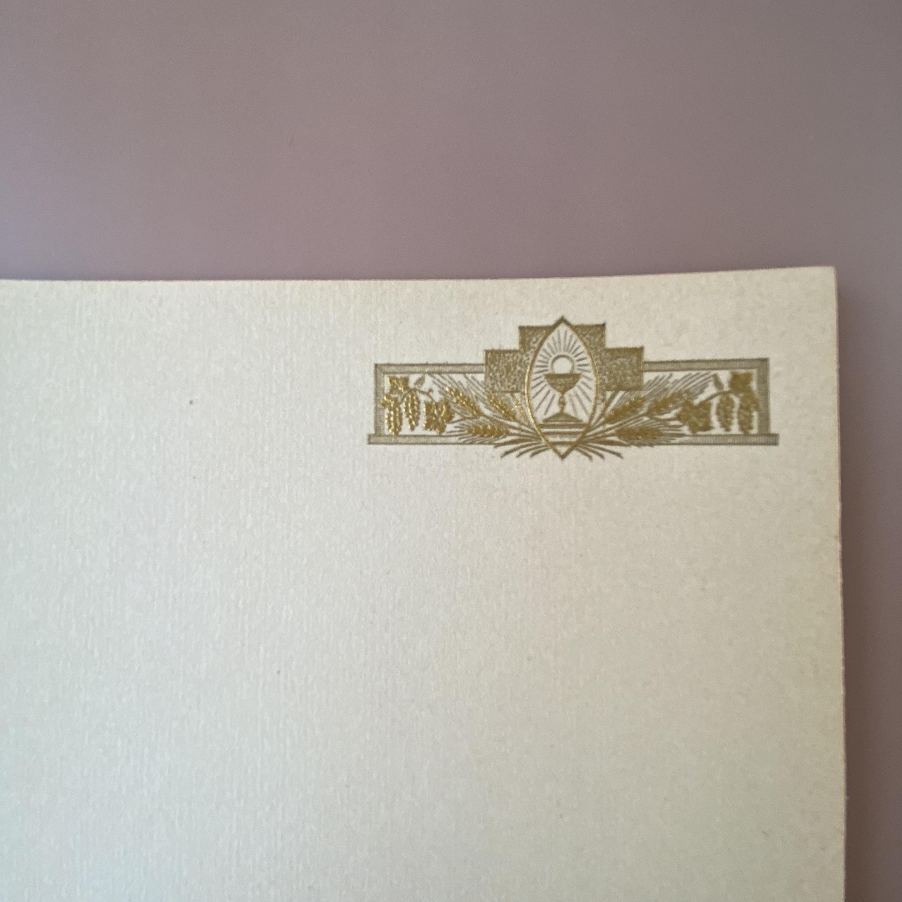 France  Baptêmeカード n / vp0166