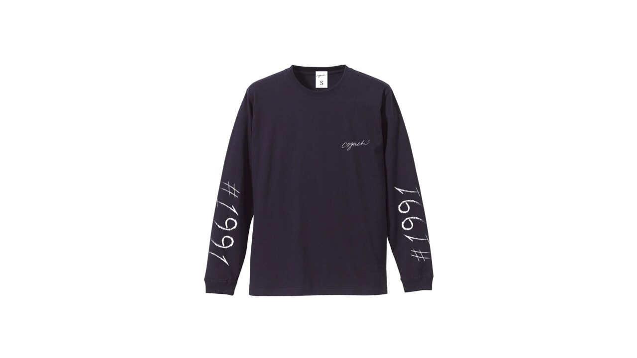 1991 biglogo longTshirt (NVY)