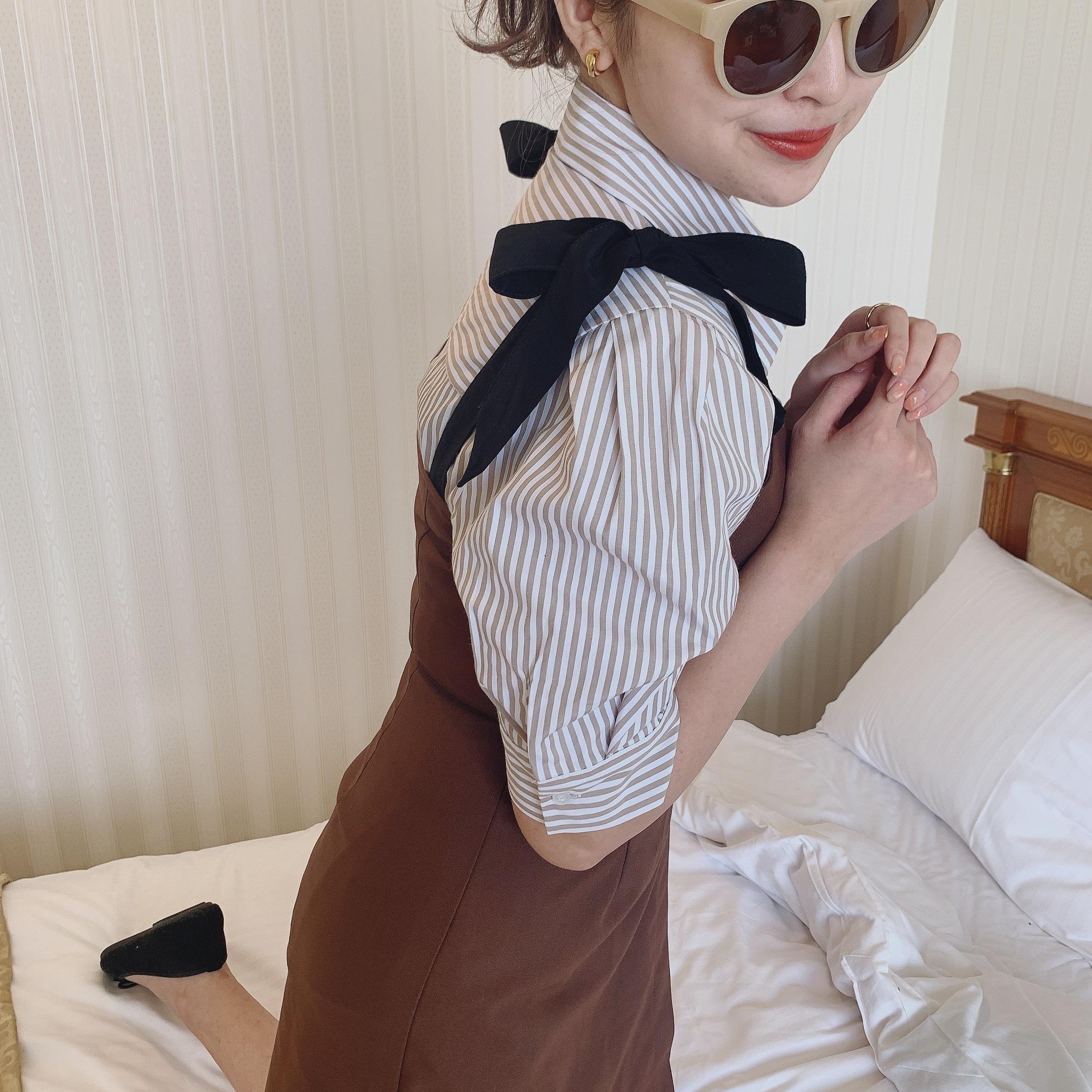 【onepiece fair price❤︎】 Désir original ribbon cami one-piece