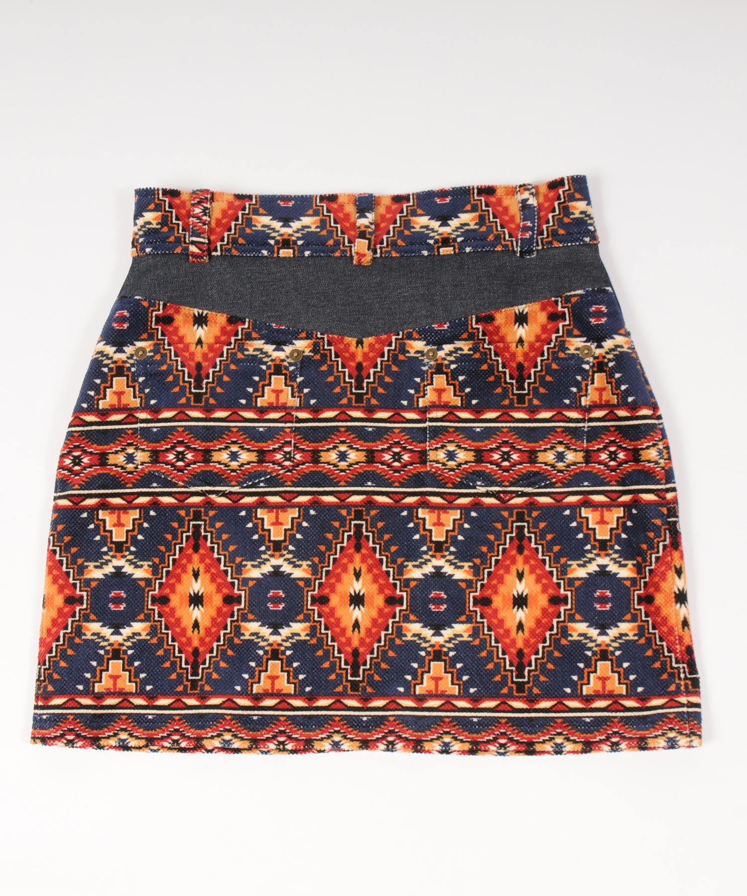 df19SS-18 NATIVE SHORT SKIRT