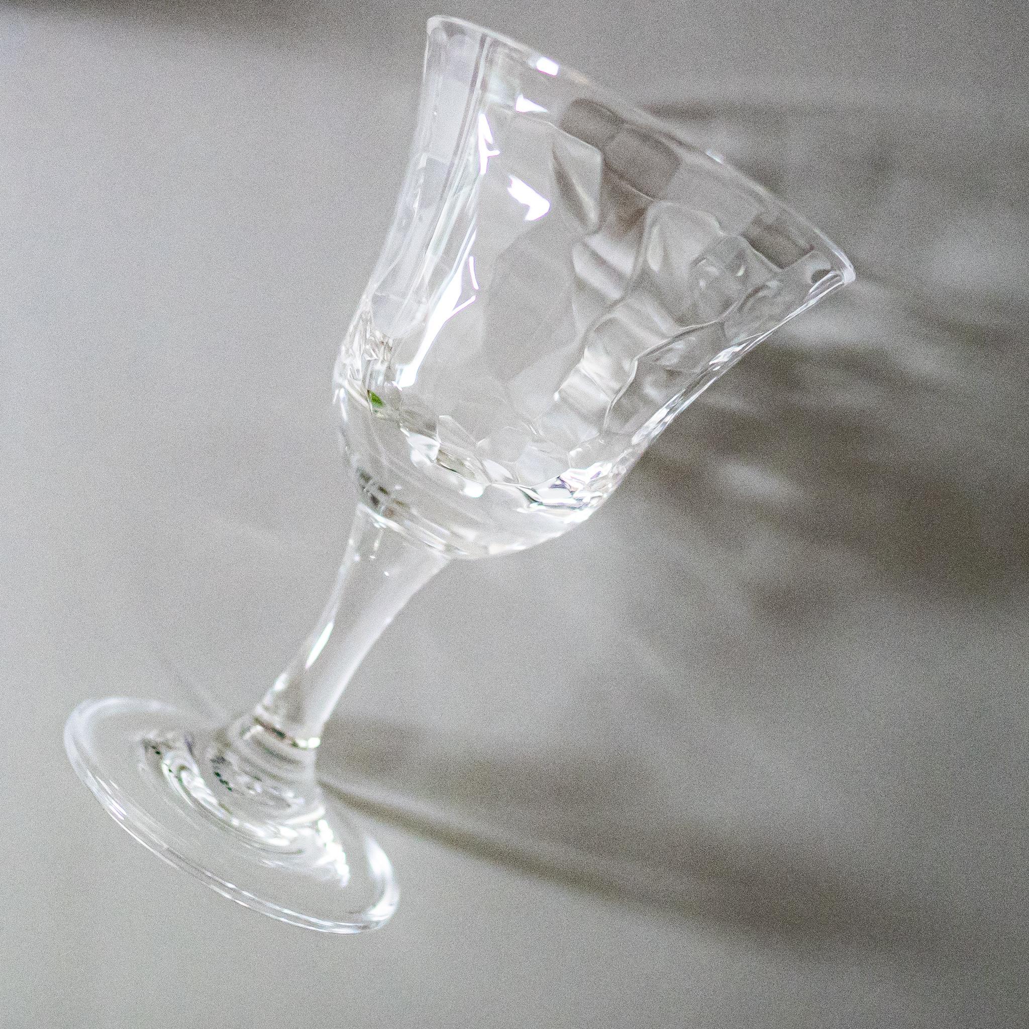 アクリル製 透明ワイングラス( 250ml )