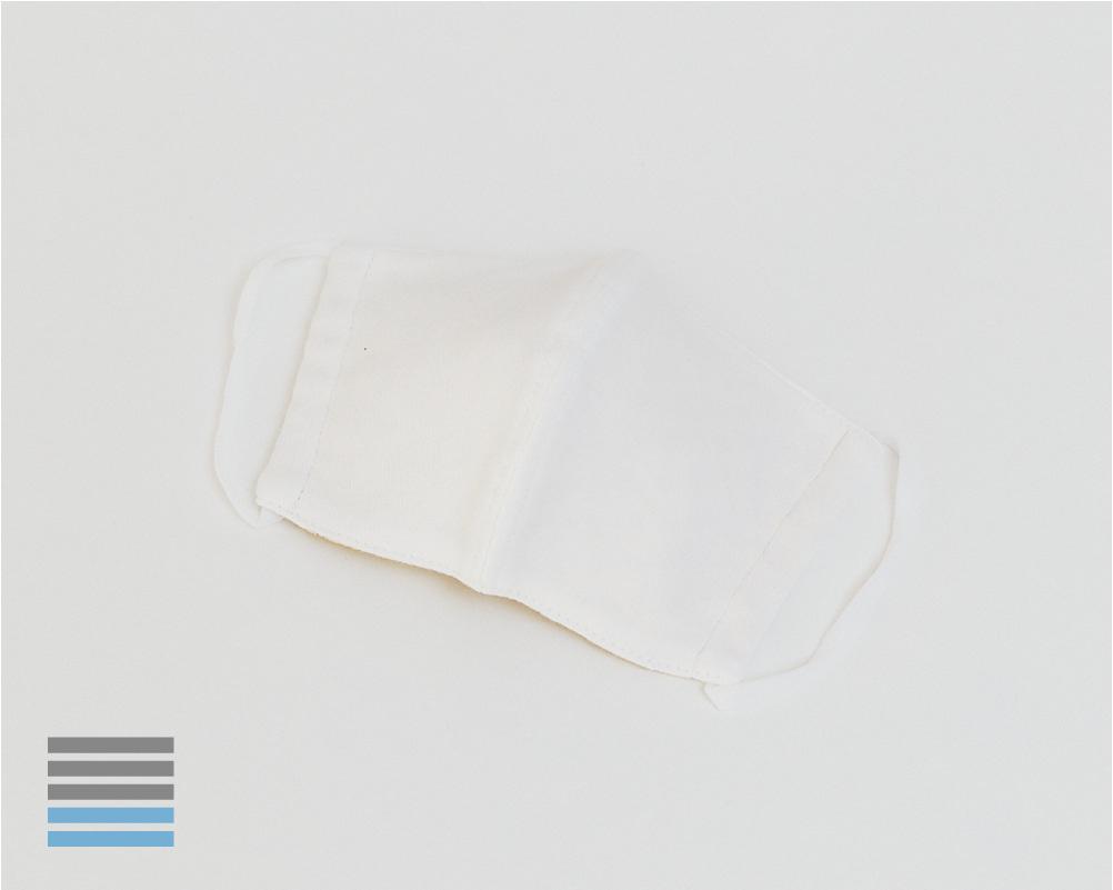 スタンダードマスク|オフホワイト【S】×ソレイアード【ウーリー】