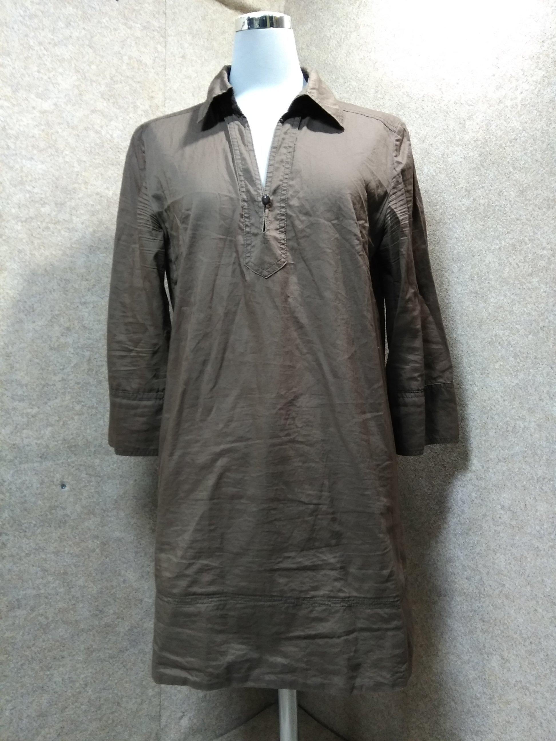 アンタイトル UNTITLED チュニック シャツ 3 ブラウン mu341s