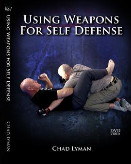 チャド・ライマン セルフディフェンスのための武器の使い方 DVD3枚セット