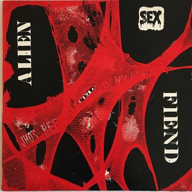 【LP・仏盤】Alien Sex Fiend / Who's Been Sleeping In My Brain