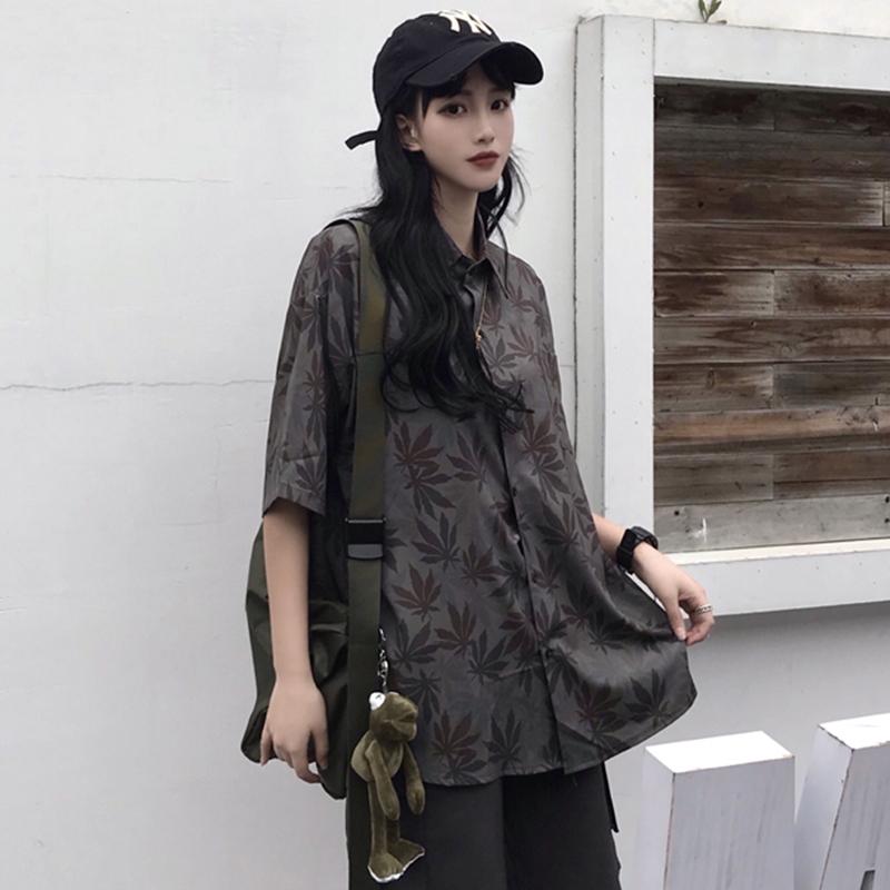 【tops】ストリート系配色超人気シャツ21862739
