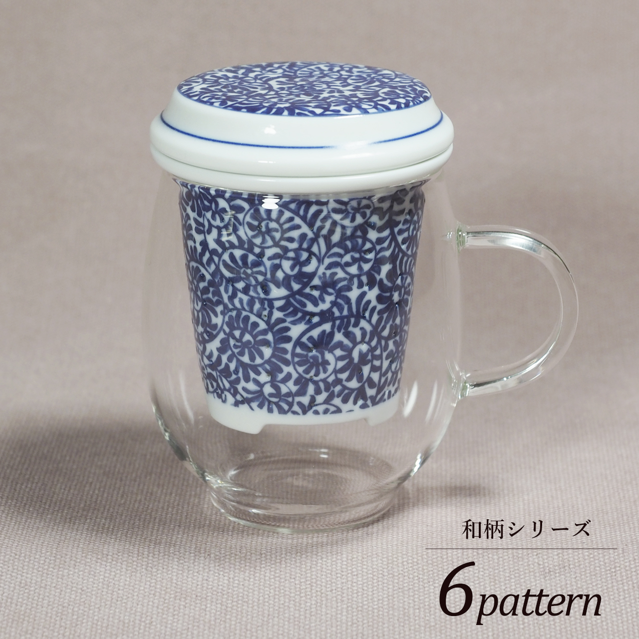 おしゃれマグ 和柄シリーズ 10-005-C