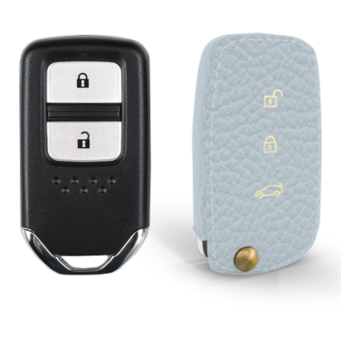Honda 専用 TypeA-2 Car Key Case Shrink Leather Case
