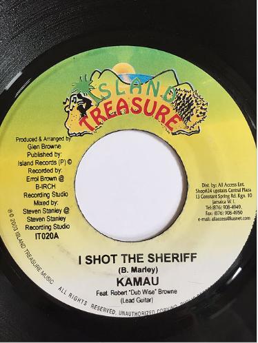 Kamau(カマウ) - I shot the sheriff【7inch】