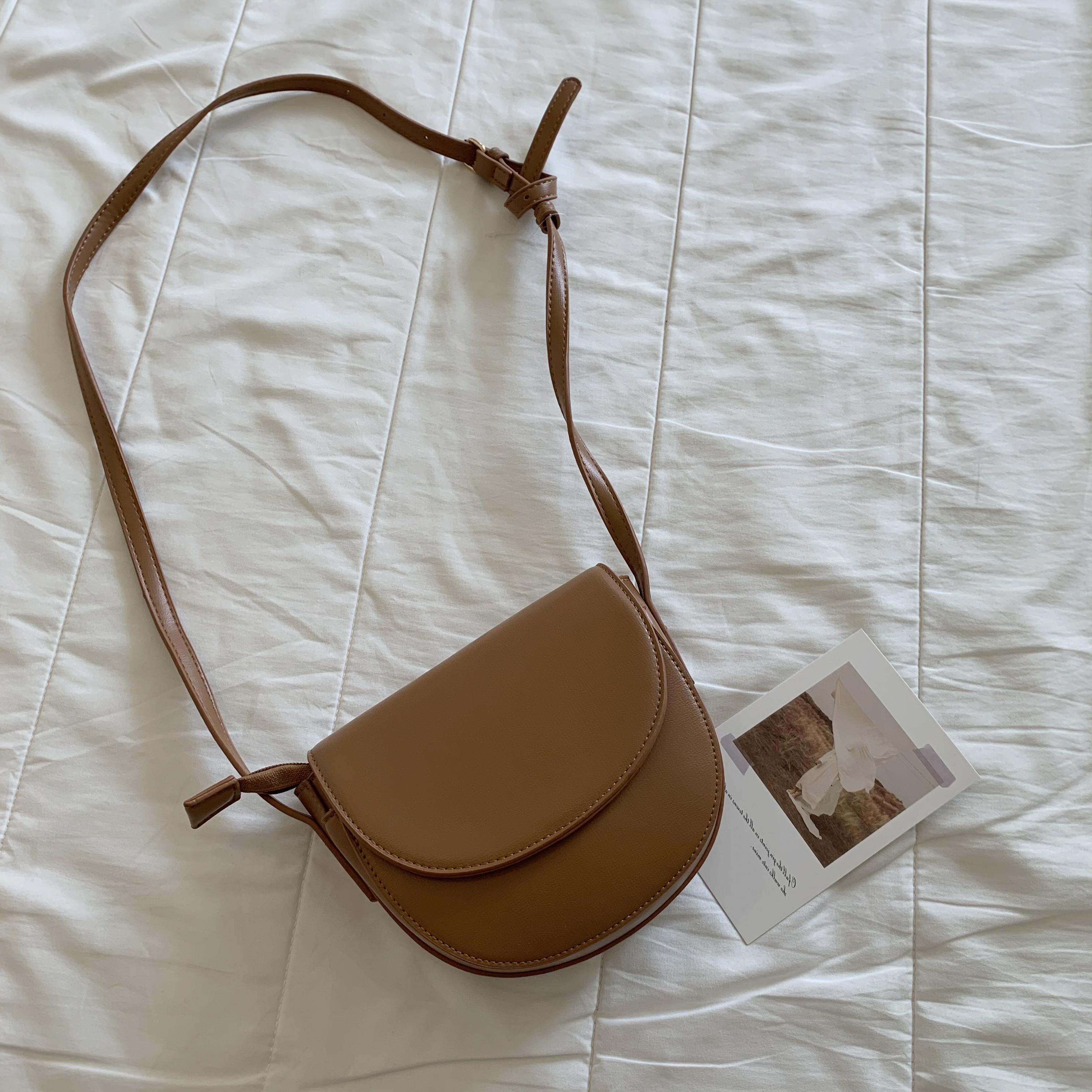 〈カフェシリーズ〉チョコレートみたいなショルダーバッグ【chocolate shoulder bag】