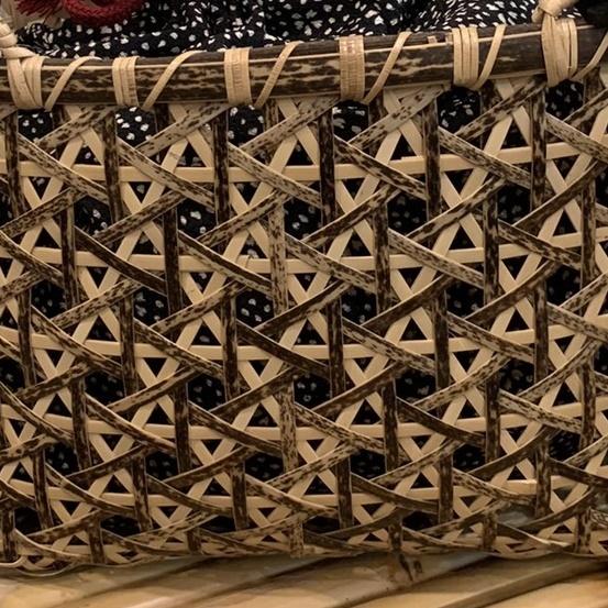 日本の職人さんの技術を感じる竹籠BAG