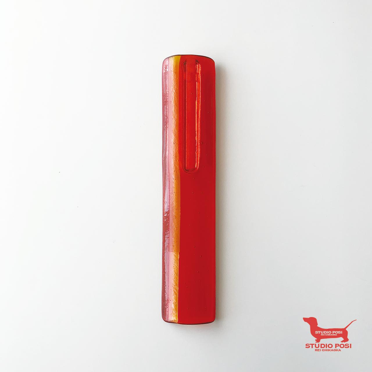 STRAW - 壁掛け花器(RED)