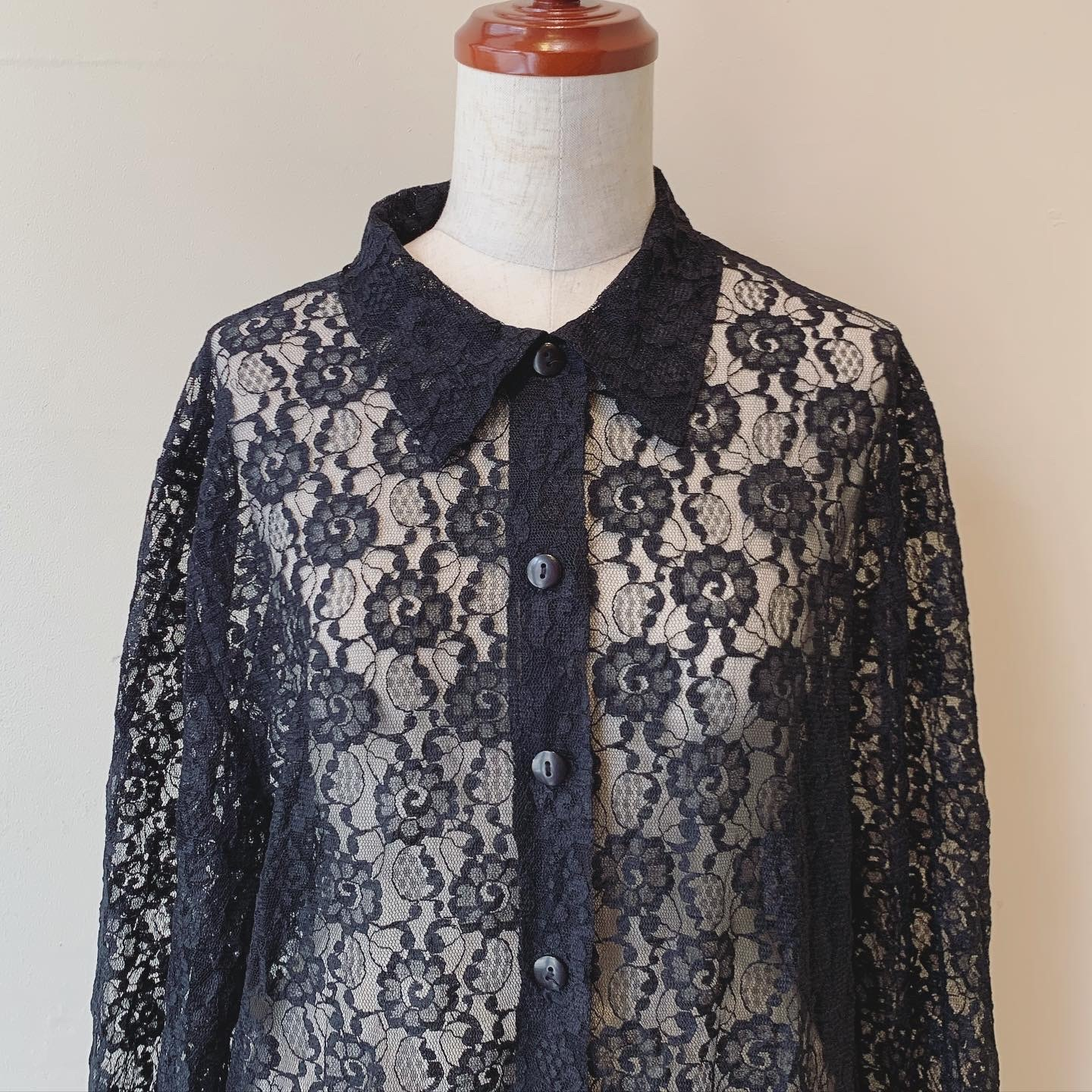 vintage made in France lace tops