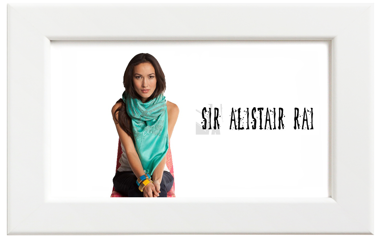 Sir Alistair Rai/サー・アリステア・レイ Om Mantra Peace スカーフ