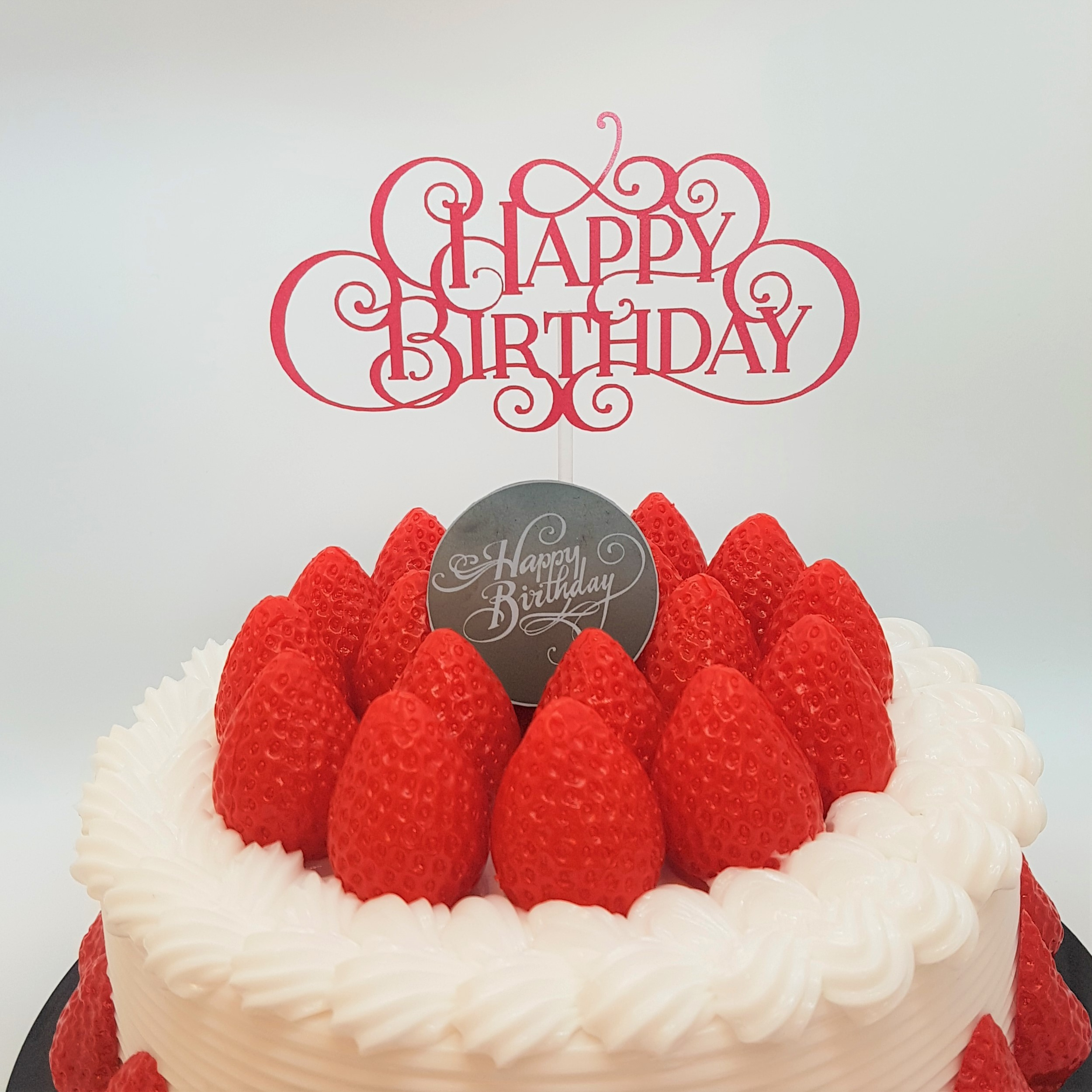ケーキトッパー(誕生日06)‐Birthday topper -