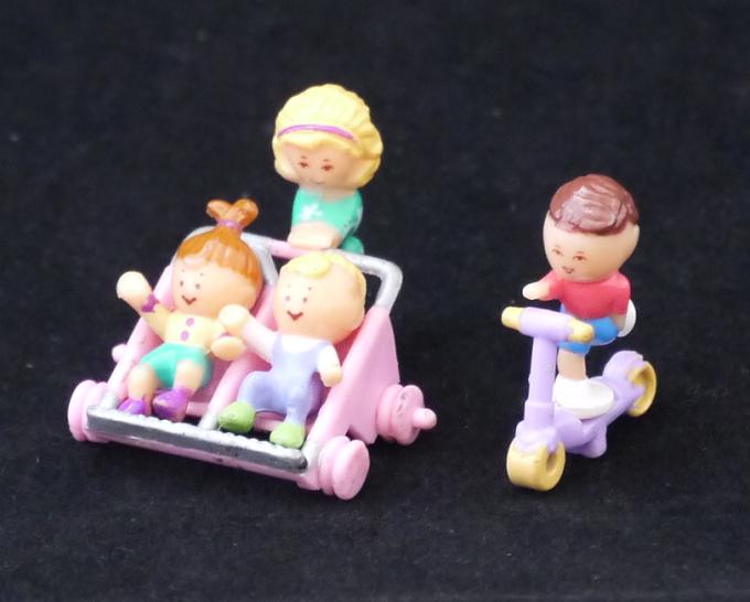 ポーリーポケット ベビーとおさんぽ 1994年完品