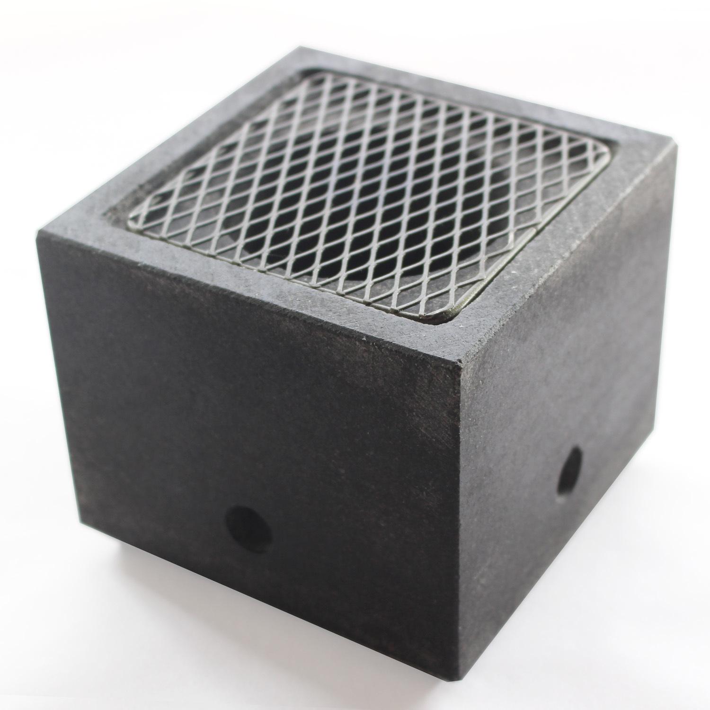 石の炙り鉢 Sサイズ(黒)