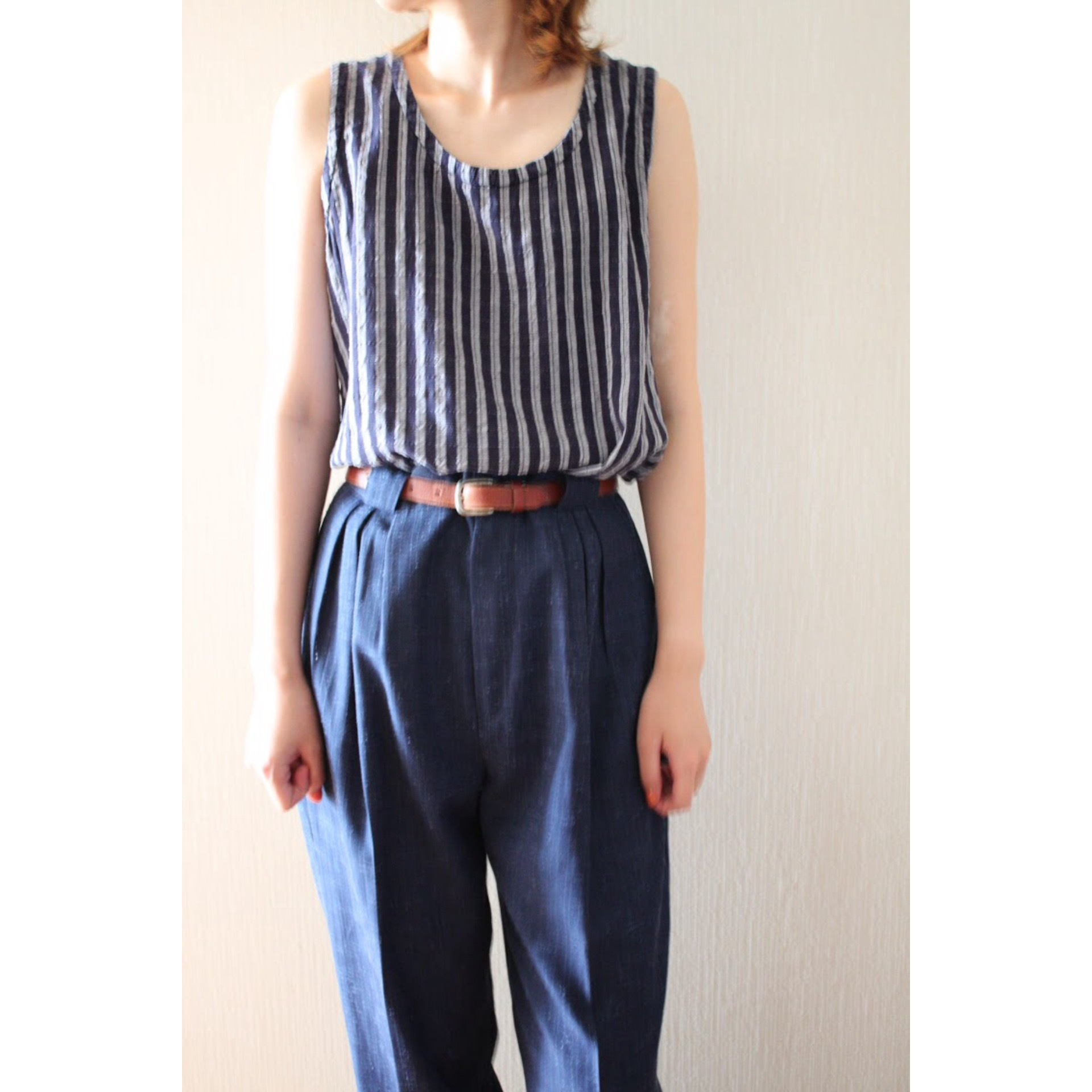 Vintage stripe tops