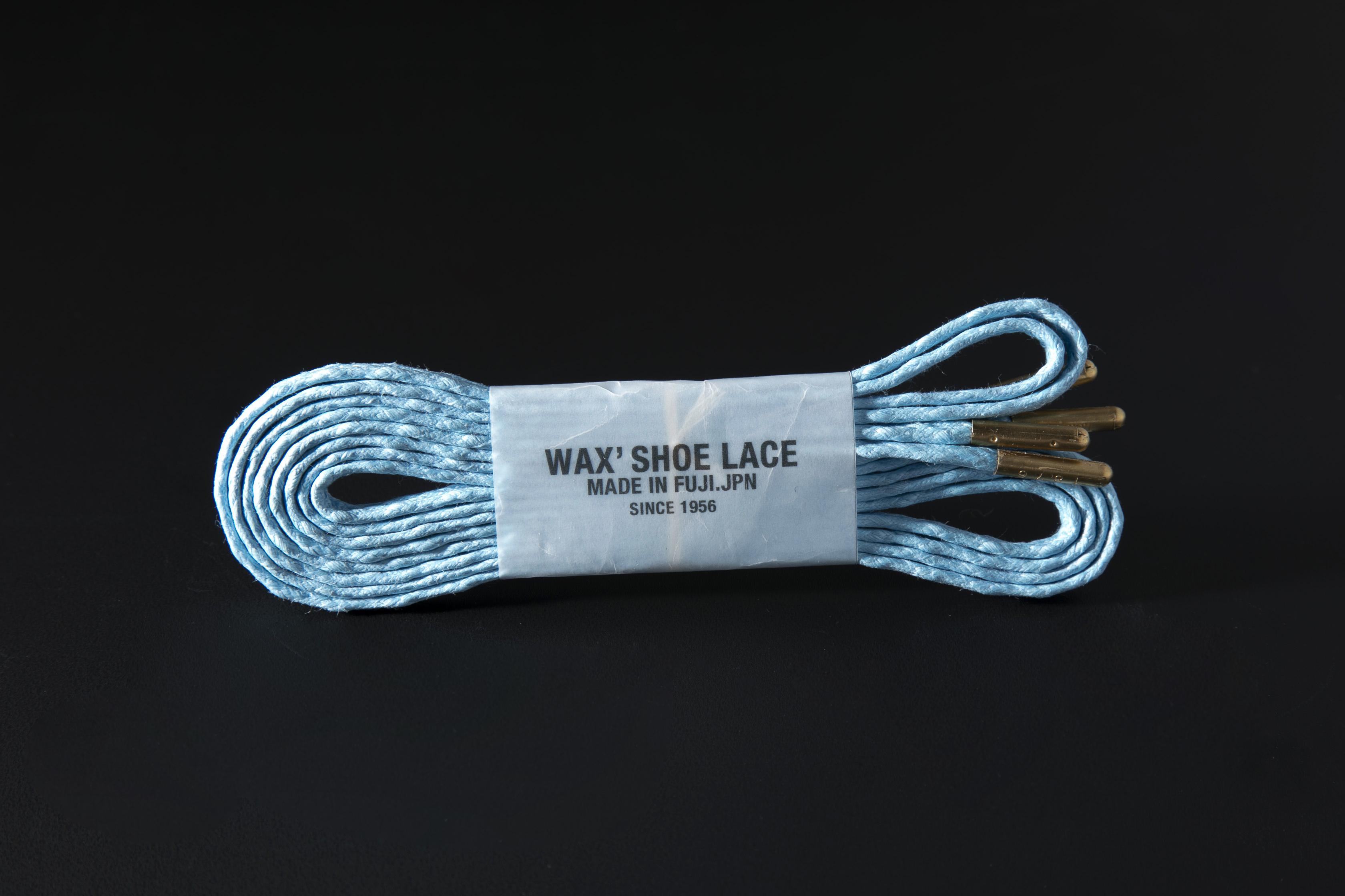 WAFFLE SHOE LACE / SKY BLUE