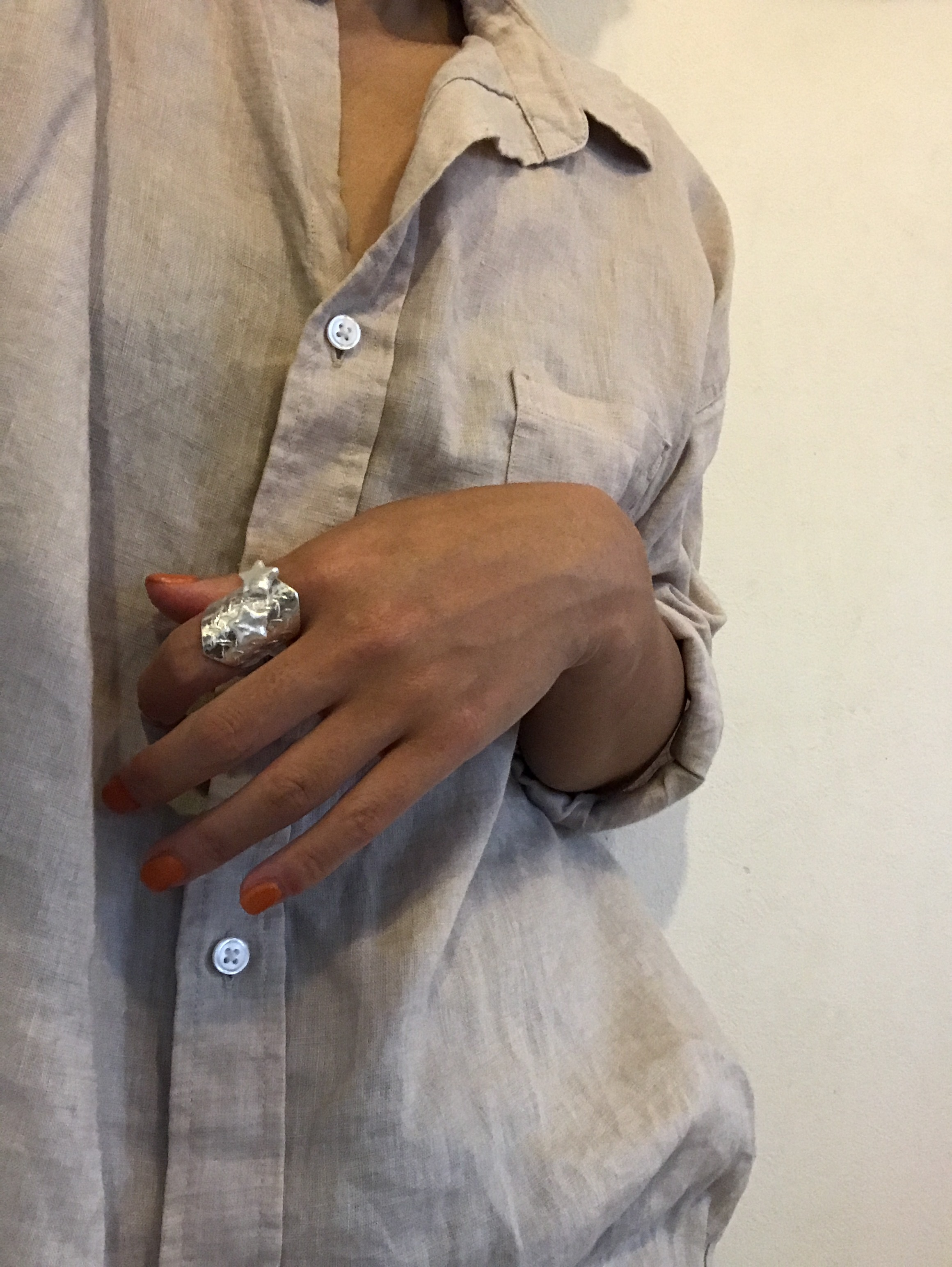 【3rd/限定】STAR/silver*pearlRING