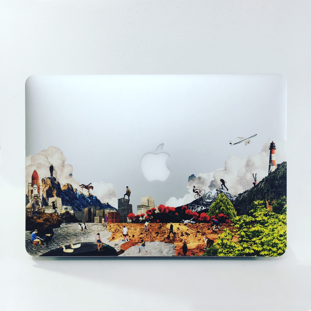diorama MacBookステッカー
