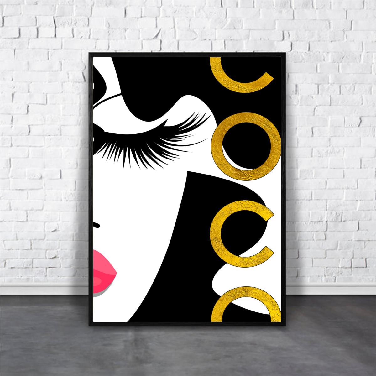 アートポスター Chanel シャネル デザイン Aroma Of Paris