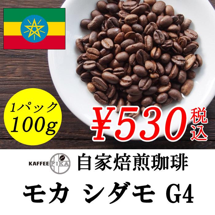 モカ シダモ G-4 100g