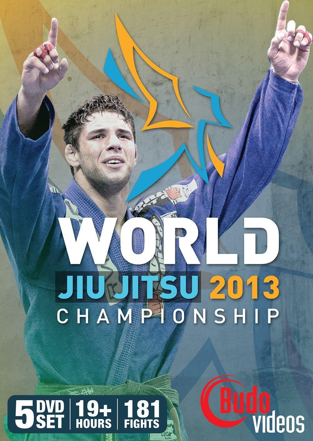 世界柔術選手権(ムンジアル)2013 5枚組 ブラジリアン柔術試合