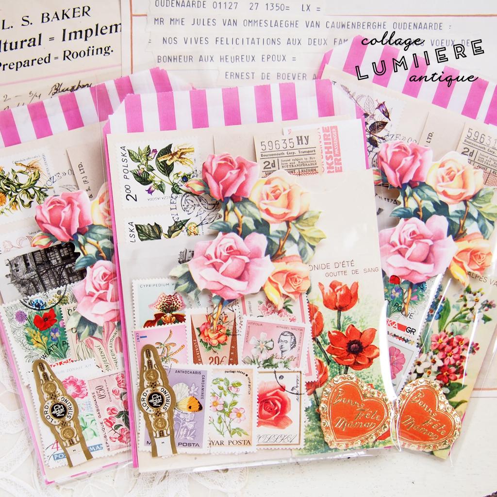 flower paper set a