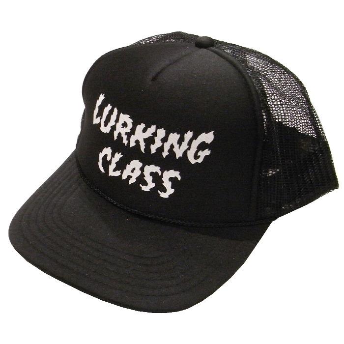 LURKING CLASS(ラーキングクラス) / LOGO MESH SNAPBACK(ST19SC04)(メッシュキャップ)