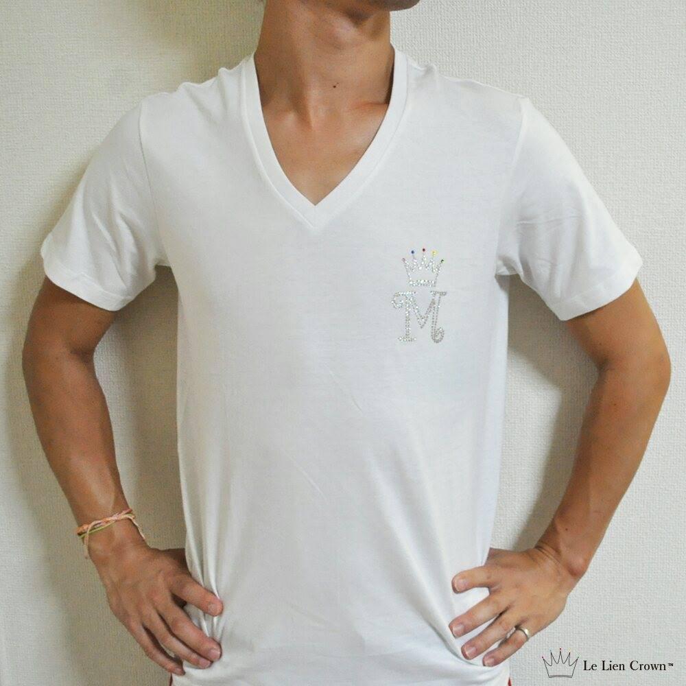 高級数字スワロ付きナンバーTシャツ