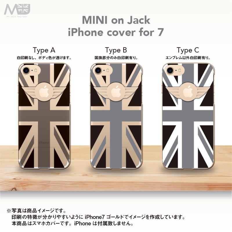 iPhone7 ブラックジャックスマホカバー MINI on Jack-2