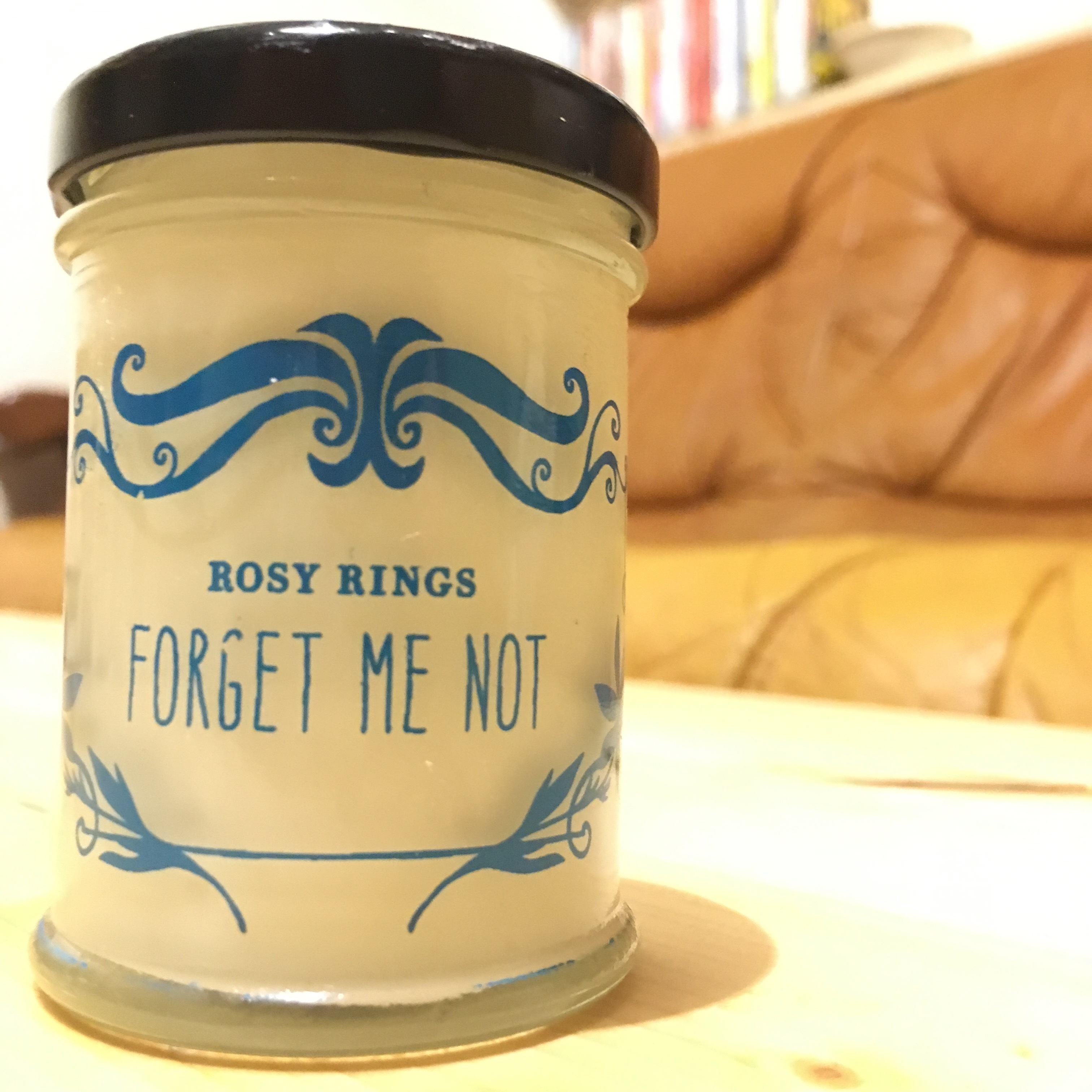 JAR CANDLE [FORGET ME NOT]