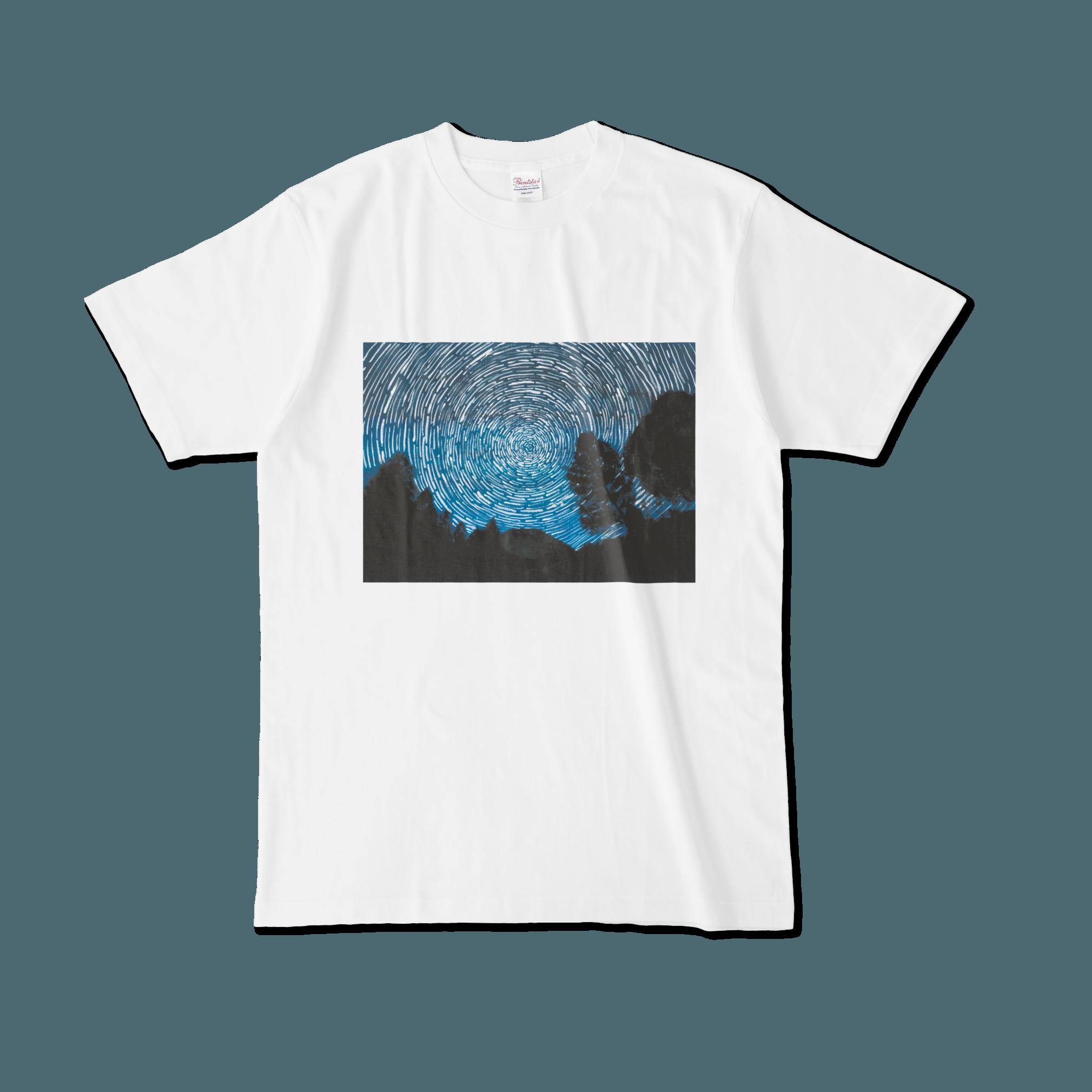 【税込・送料無料】山下結愛デザインTシャツ「星の日周運動」