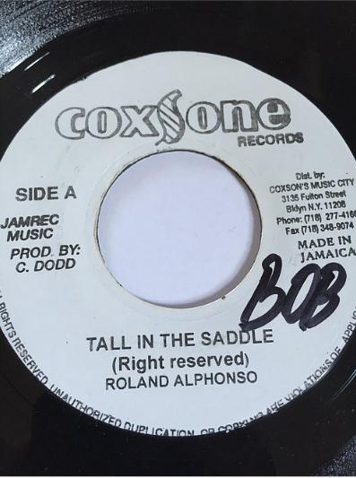 Roland Alphonso(ローランドアルフォンソ) - Tall In The Saddle【7'】
