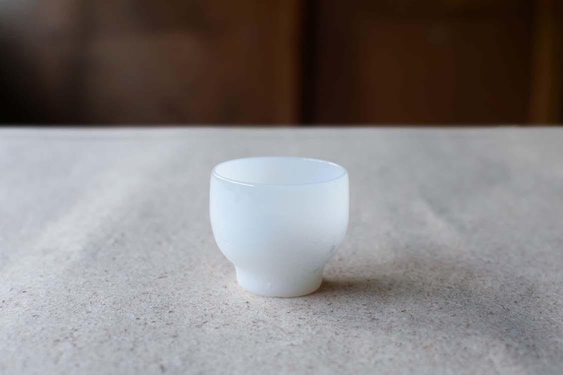 とりもと硝子店|霜地小杯(耐熱)