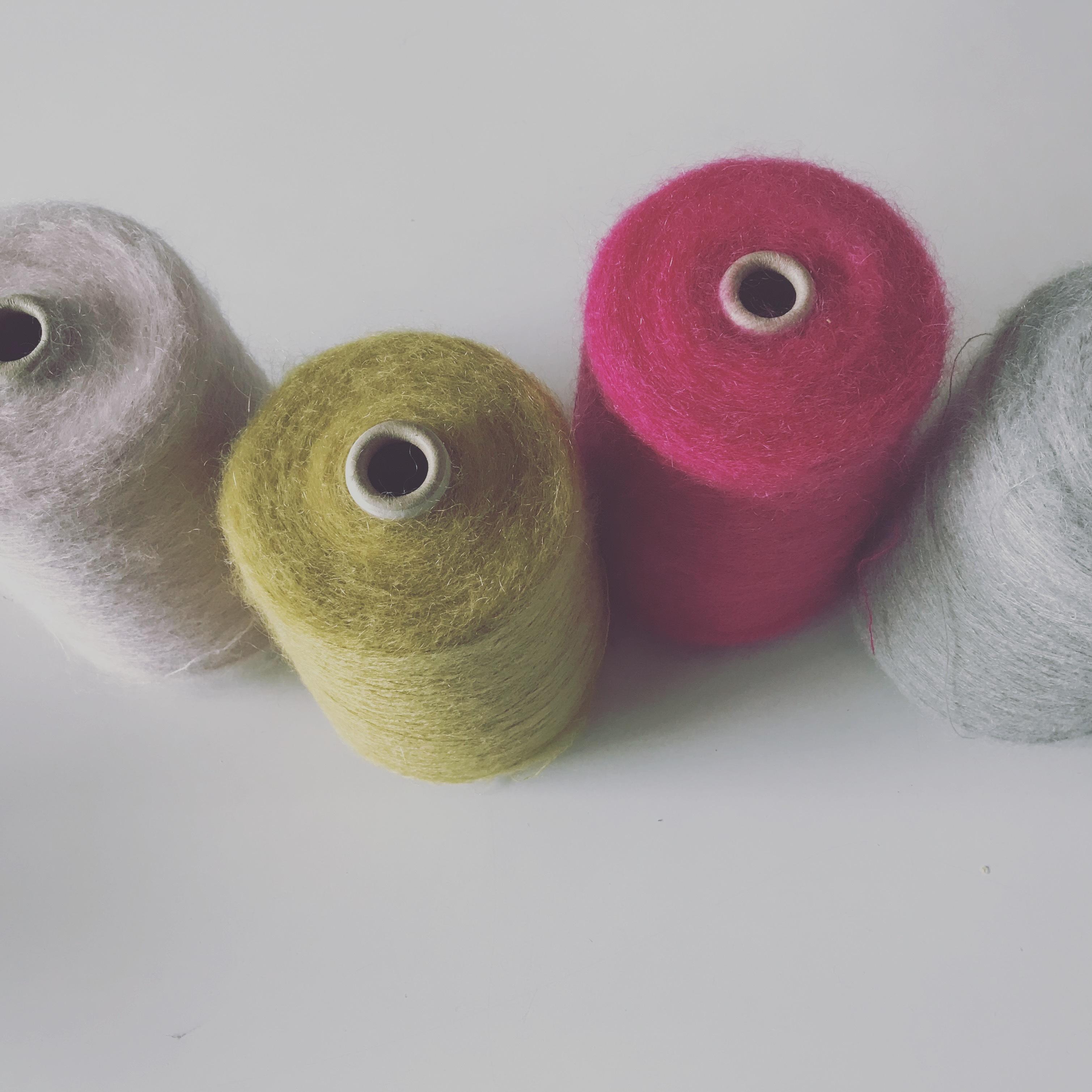 【あじさい】Flower yarn モビール