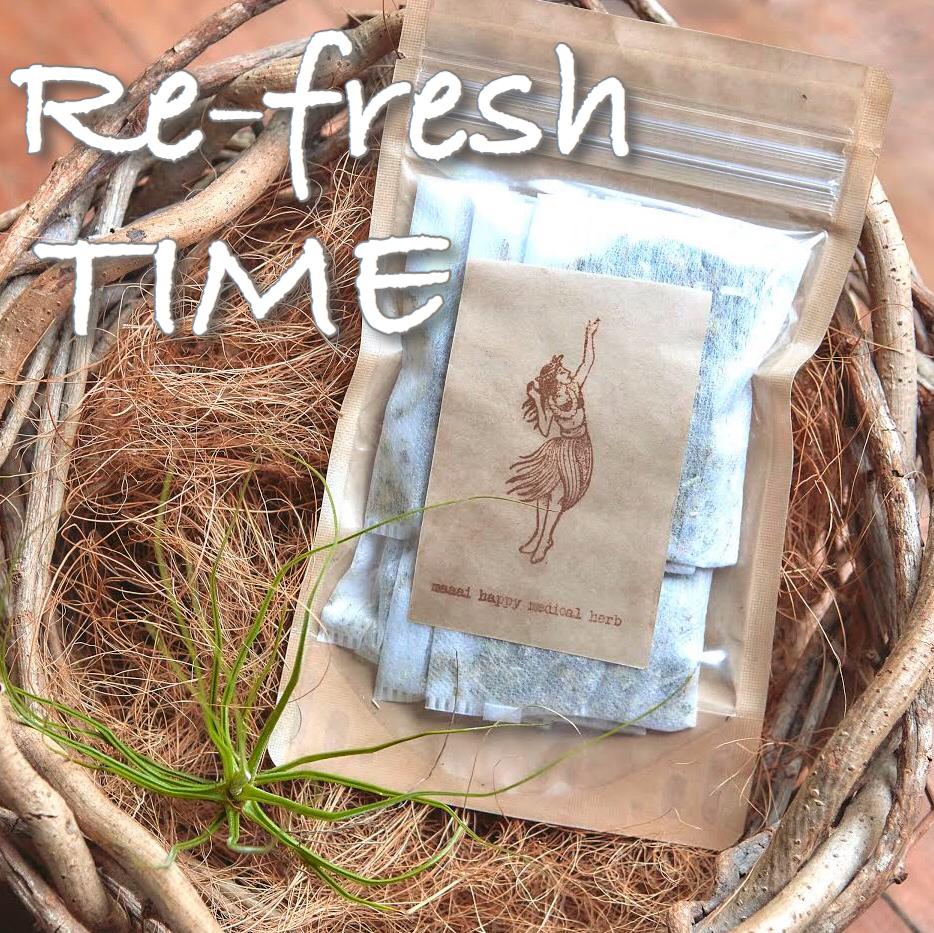 Re-fresh TIME(二日酔い、食べ過ぎのtea)