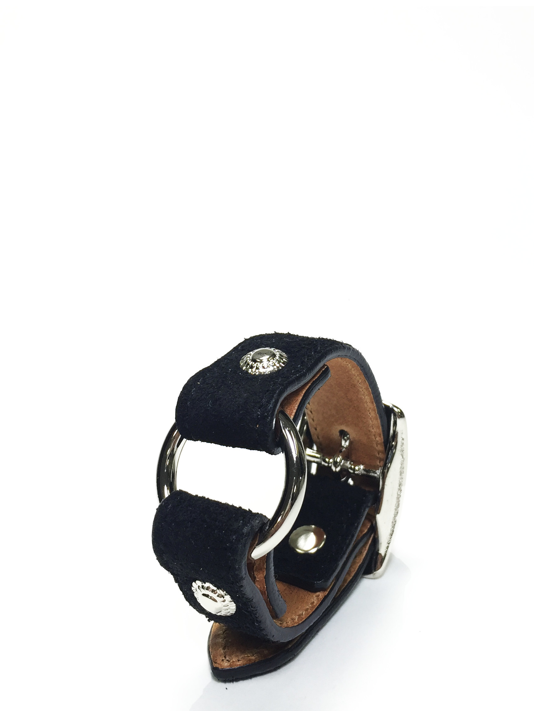 nahezugleich / Suede Ring bracelet - 画像2