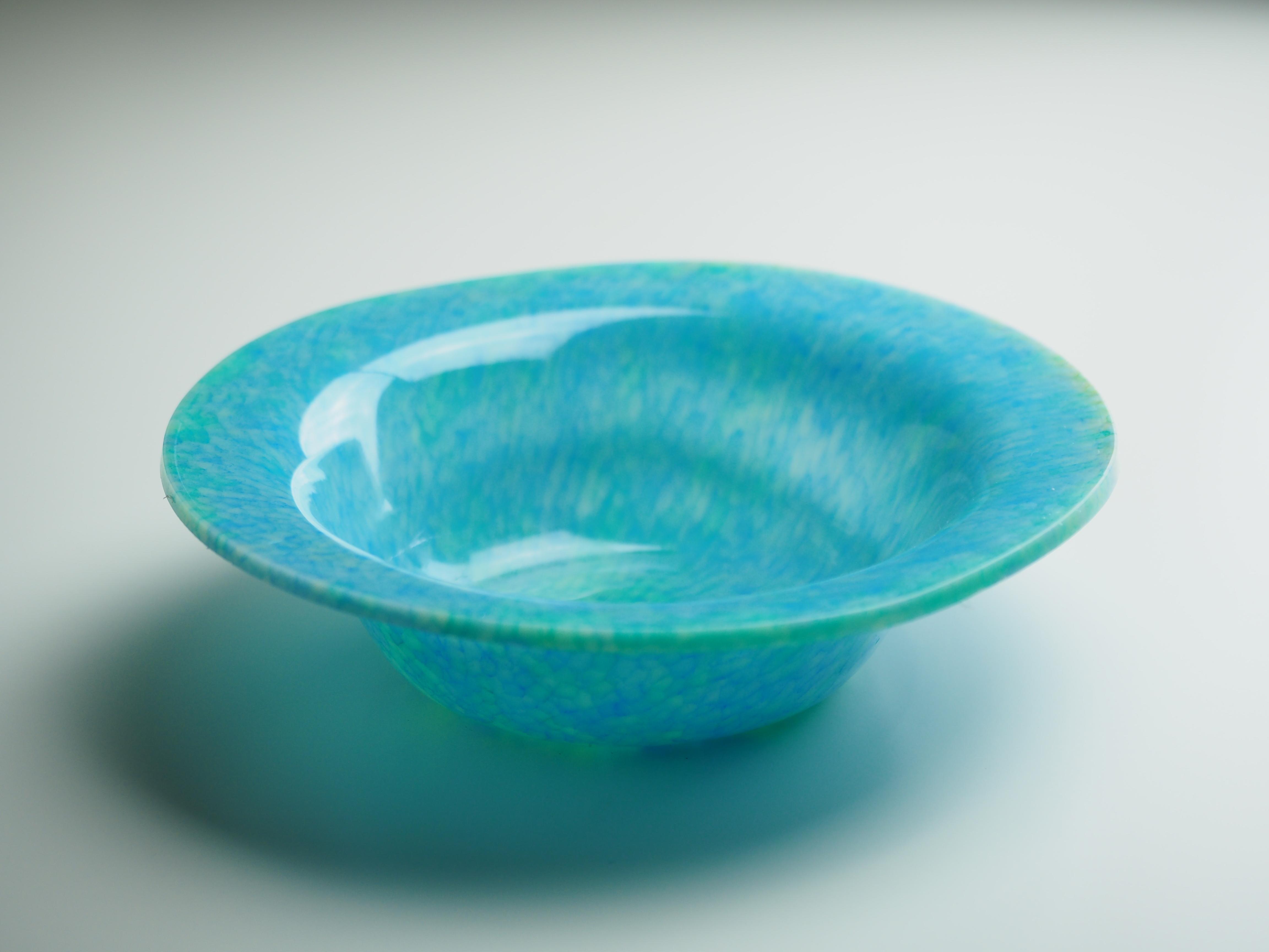 フルーツボウル-N(青×黄緑)