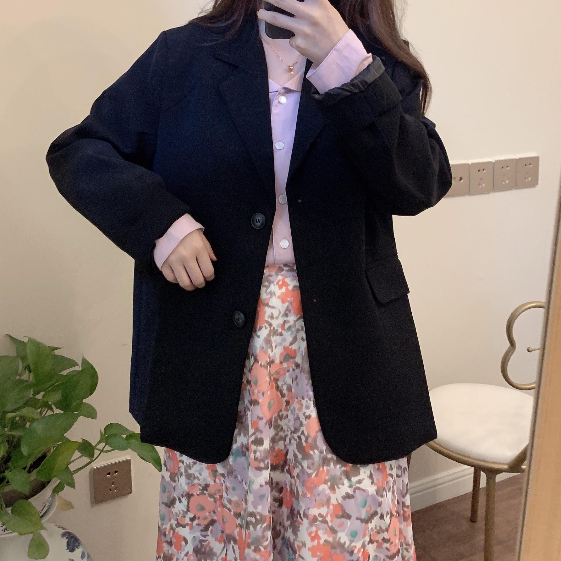 〈カフェシリーズ〉フェミニンやわらかジャケット【feminine soft jacket】
