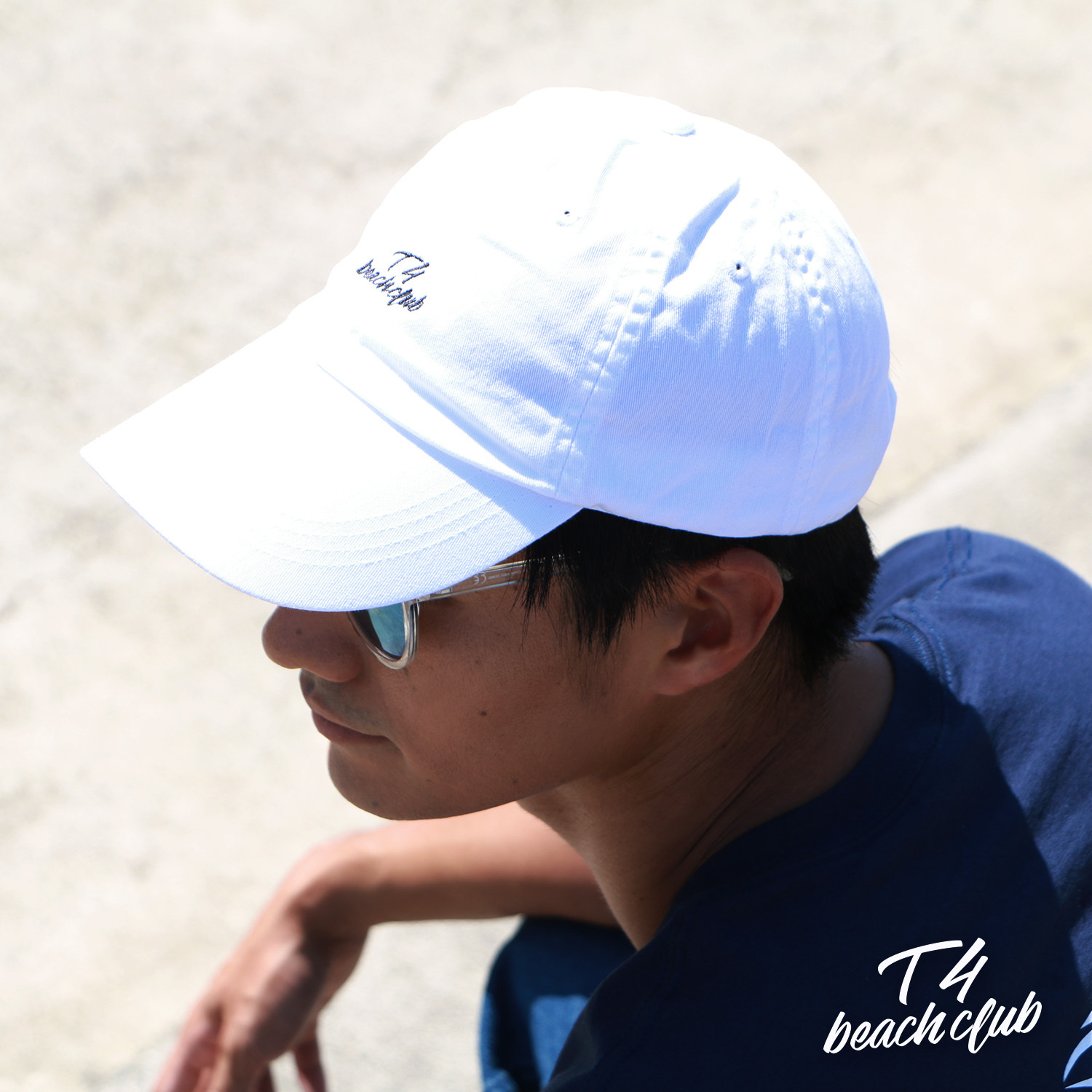 【TF005】 T4beachclub 6PANEL COTTON CAP