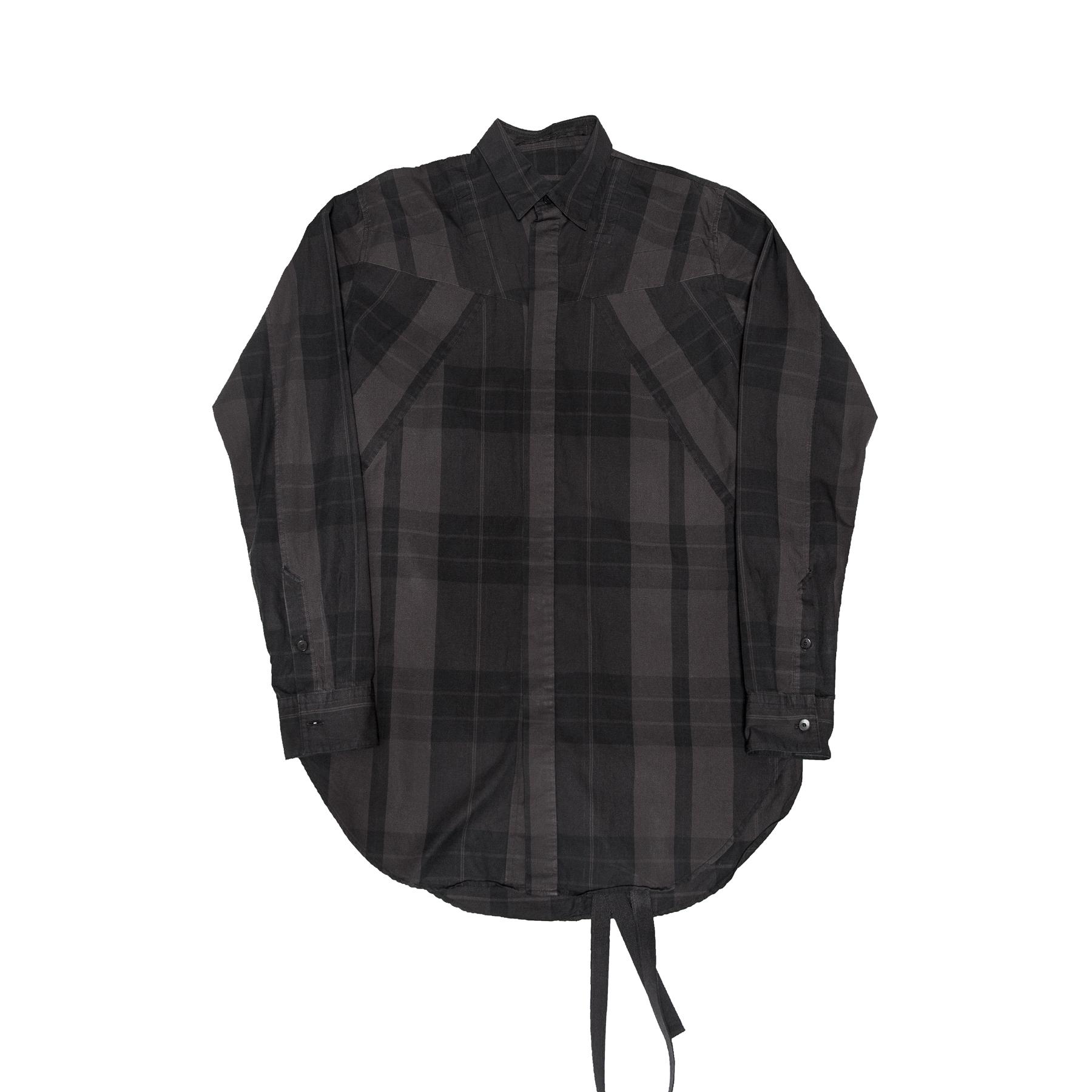 617SHM1-BLACK / ランダムパターンハーネスシャツ